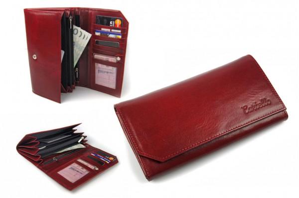 Skórzany portfel damski Cartello S001