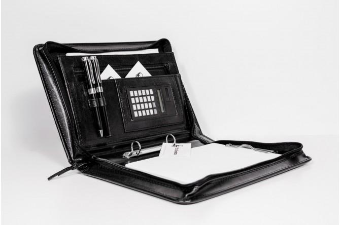 Aktówka A5 z kalkulatorem na dokumenty BROD-AK20-1