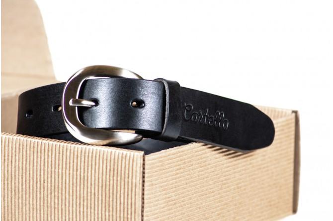 Pasek skórzany Cartello C-0430