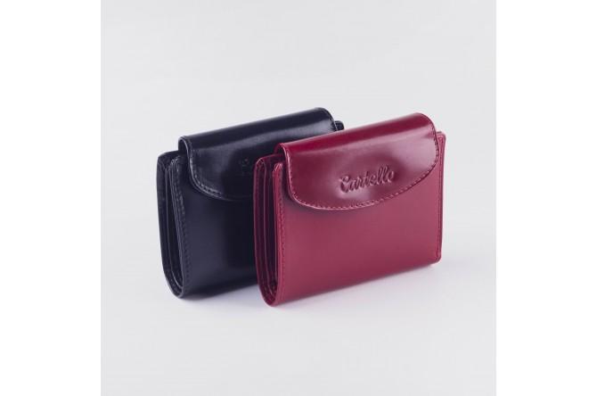 Skórzany portfel damski Cartello 003